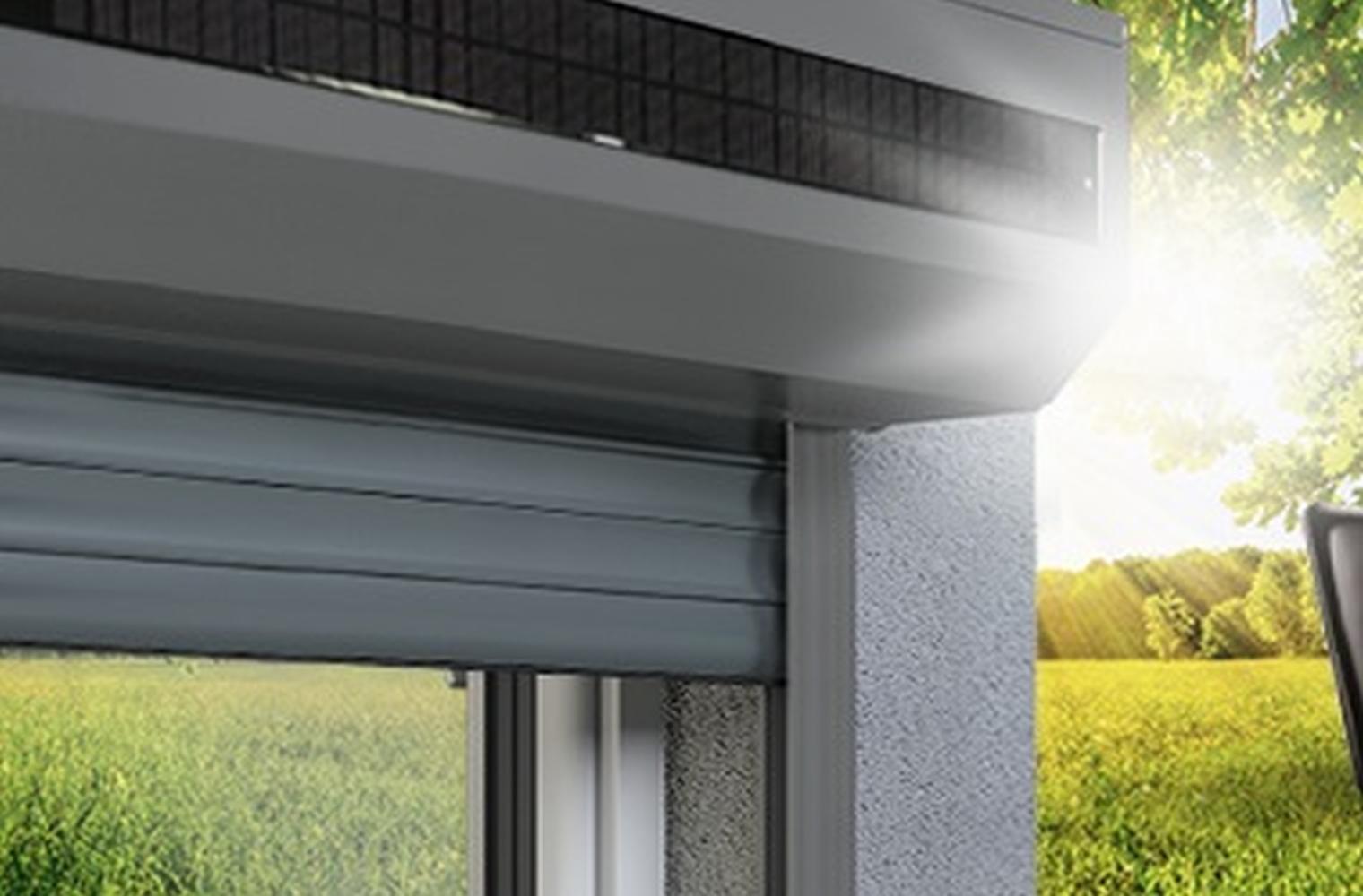 Solar Rollladen Einmal Investieren Langfristig Sparen Fensterblick De
