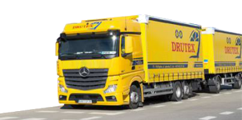 Drutex Fenster Transport LKW