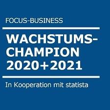 Siegel FOCUS Wachstumschampion 2020