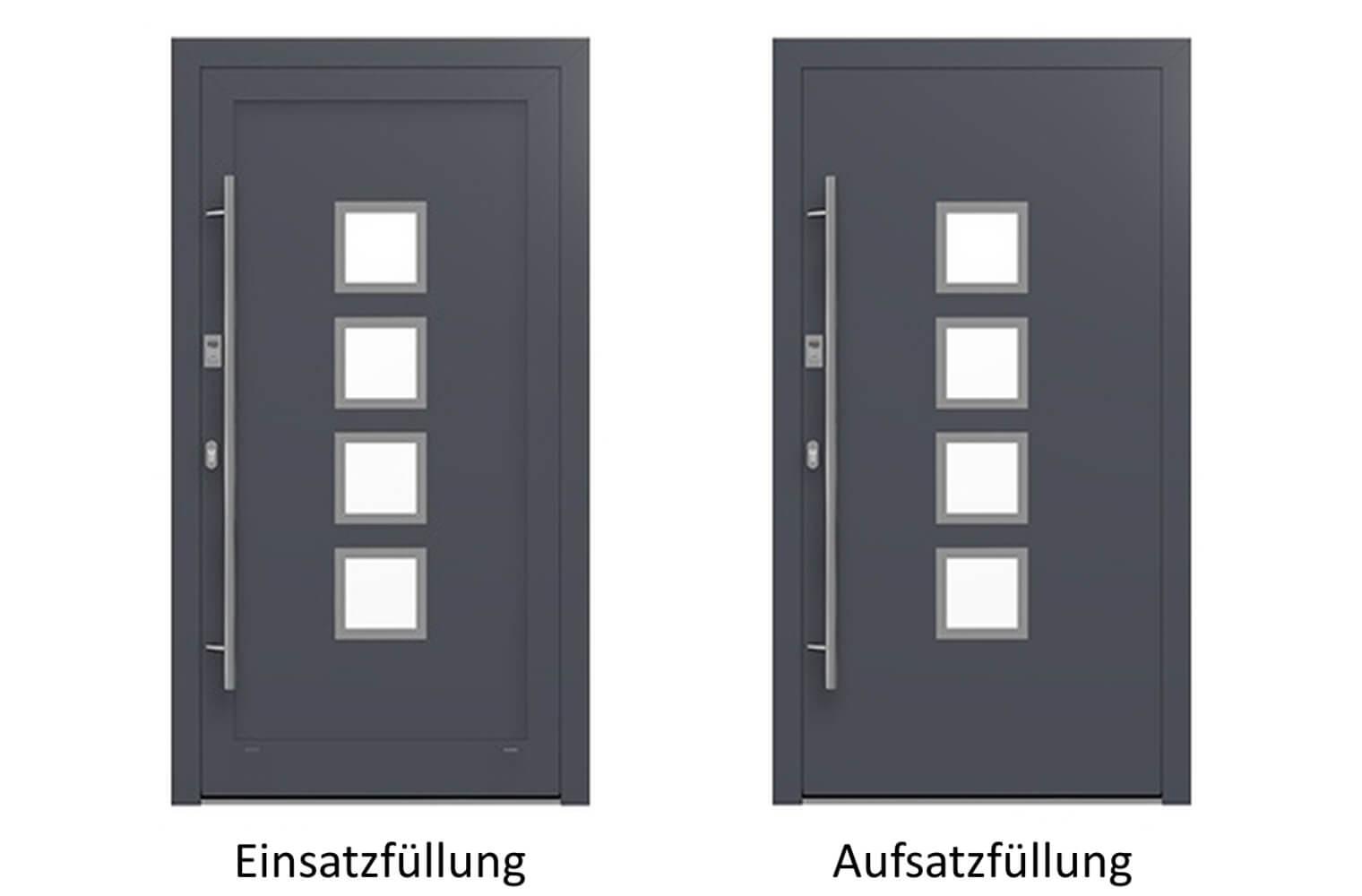 Haustür Anthrazit 7016 kaufen – Edel, Einzigartig, Traumhaft ...