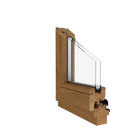 Holzfensterprofil Softline-68