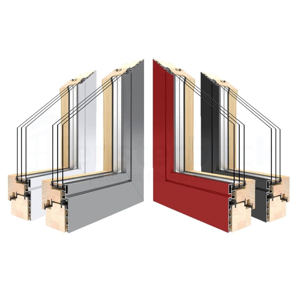 holz alu balkont r online kaufen preise info. Black Bedroom Furniture Sets. Home Design Ideas