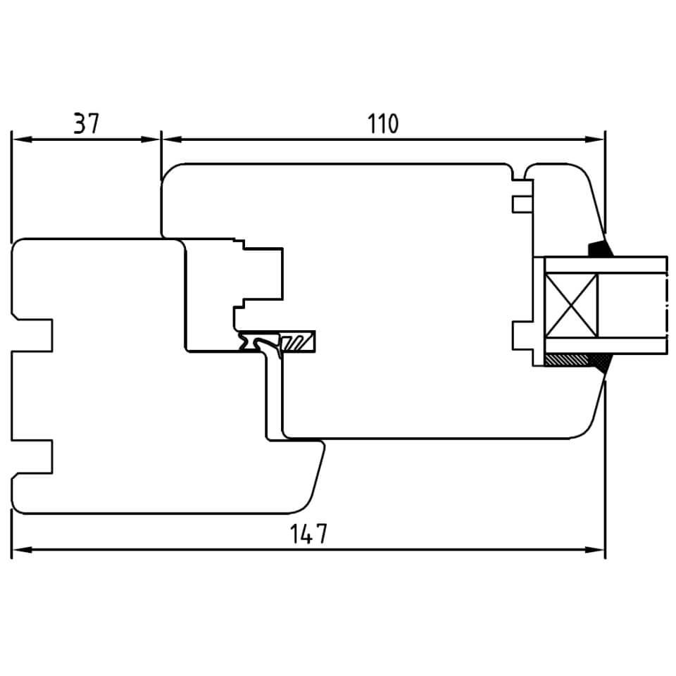 detailzeichnungen holzfenster softline 68 iv68. Black Bedroom Furniture Sets. Home Design Ideas