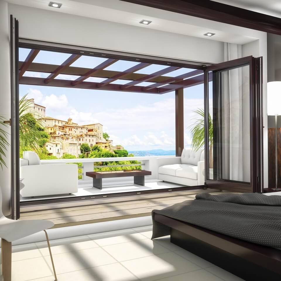 holz faltschiebet r softline 68 g nstig online kaufen. Black Bedroom Furniture Sets. Home Design Ideas