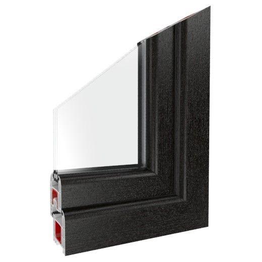 fenster dunkelbraun kaufen warm und nat rlich. Black Bedroom Furniture Sets. Home Design Ideas