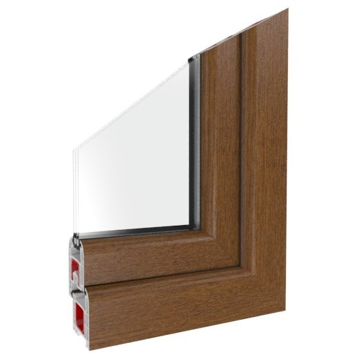 Fenster Iglo 5 Golden Oak