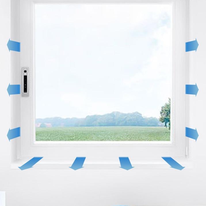 Automatische fensterl ftung optimale frischluftzufuhr - Fenster mit luftung ...