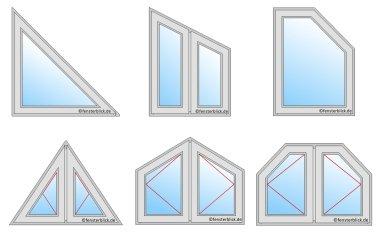 giebelfenster online kaufen von rund bis eckig. Black Bedroom Furniture Sets. Home Design Ideas