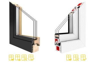 fenster vergleich kunststoff holz alu vorteile. Black Bedroom Furniture Sets. Home Design Ideas