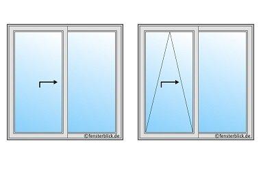 Schiebefenster horizontal hs und psk fenster for Schiebefenster konfigurator
