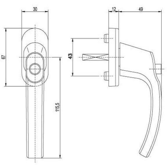 Fensterolive standard f r kleines geld billig online - Technische zeichnung fenster ...