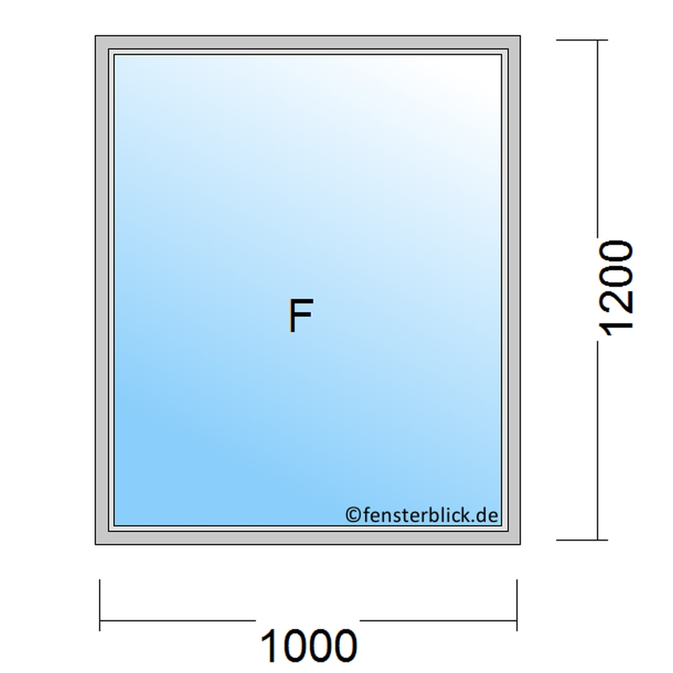 Fenster 100x120 cm g nstig online kaufen for Fenster 100x120