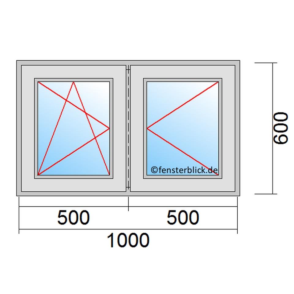 Fenster 100 x 60cm zu g nstigen preisen for Fenster 60 x 30