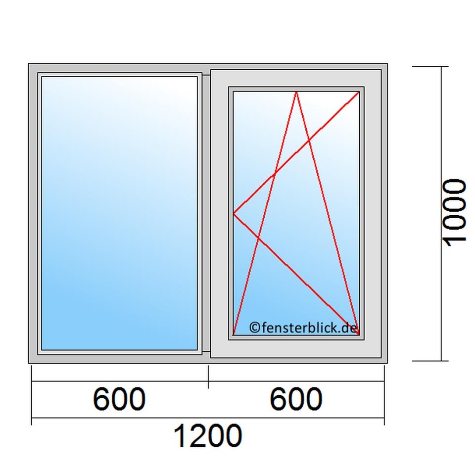 Fenster 120x100cm zu g nstigen preisen for Fenster 120x100