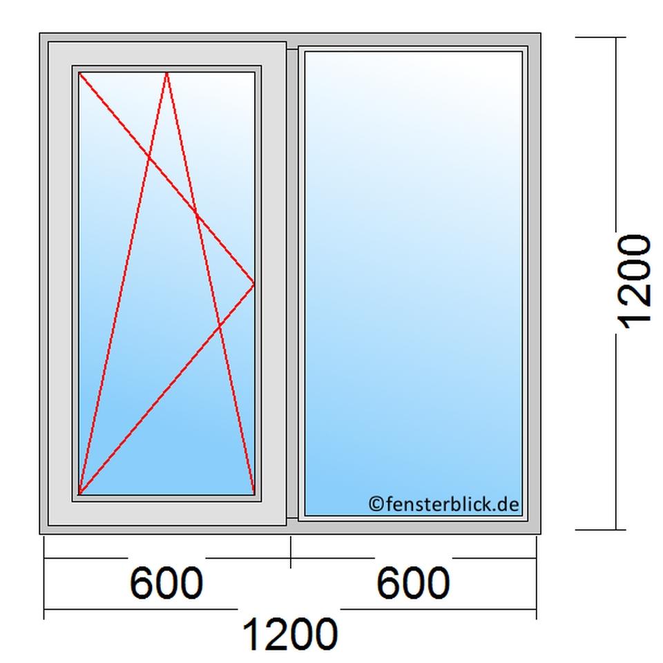 Fenster 120x120cm Zu Attraktiven Preisen Fensterblick De