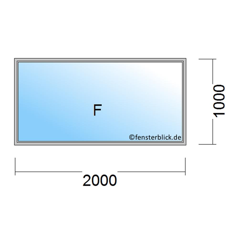 Top Fenster 200x100cm zu günstigen Preisen - fensterblick.de CI85