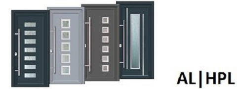 alu haust ren aluminium haust r online kaufen. Black Bedroom Furniture Sets. Home Design Ideas