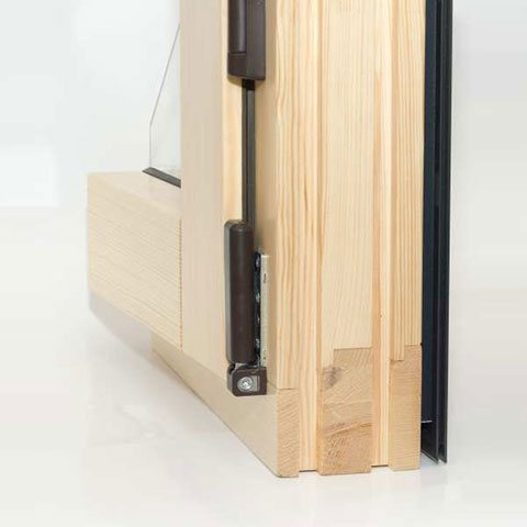Holz-Aluminium Fensterprofilecke