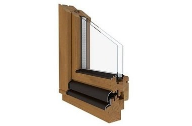 Holzfenster Softline-68