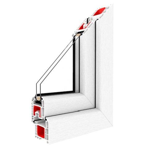 Kunststofffenster Iglo 5 Classic Weiß