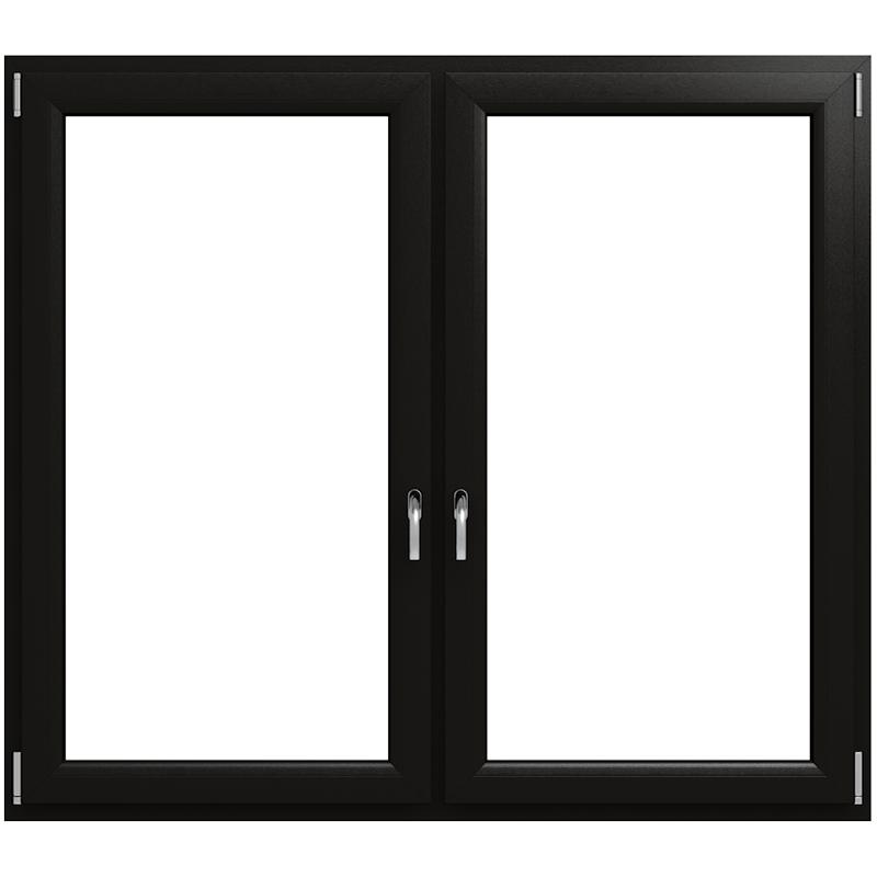 Kunststofffenster Schwarz kaufen – optischer Hingucker - fensterblick.de