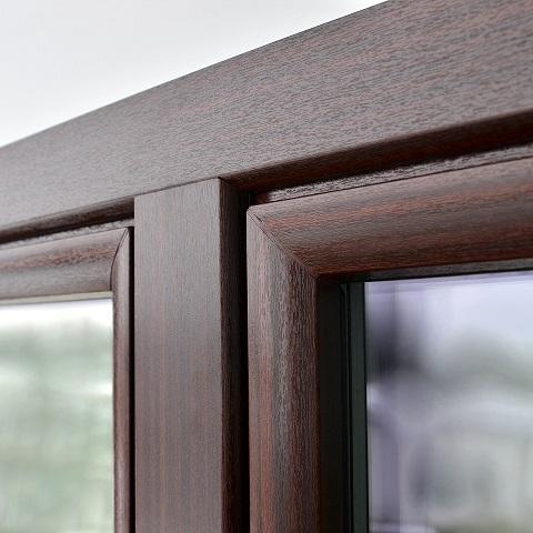 Kunststofffenster holzdekor weiß  Fenster Design Beratung: Gestaltung, Material und Farben ...