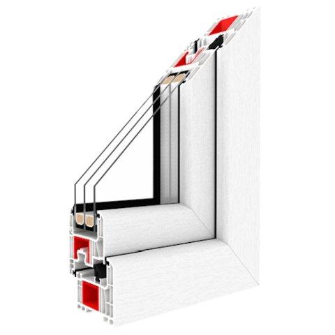 fenster bxh 1000x1200 dkr iglo energy classic wei. Black Bedroom Furniture Sets. Home Design Ideas