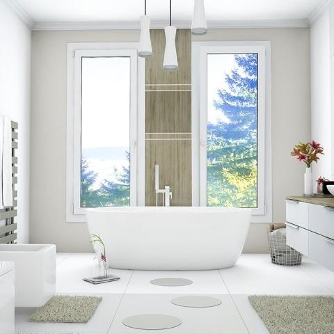 Badezimmerfenster Mit Sichtschutz Gunstig Kaufen In Allen Grossen Fensterblick De