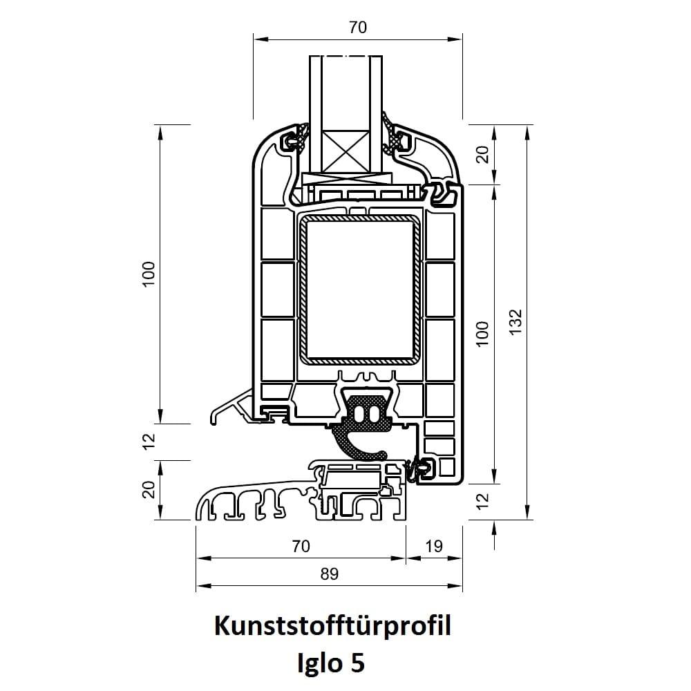 Haustür detail schnitt  Haustüren Bonn - DRUTEX Türen online kaufen - fensterblick.de