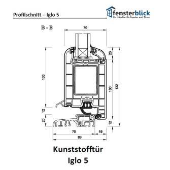 Kunststoff tür  Iglo 5 Kunststofftüren online kaufen - fensterblick.de