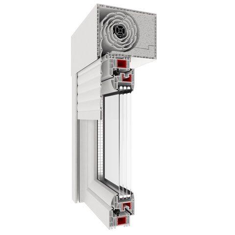 Drutex aufsatzrollladen g nstig im online shop for Kunststofffenster shop